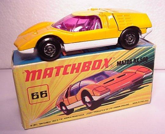 matchbox mazda rx500
